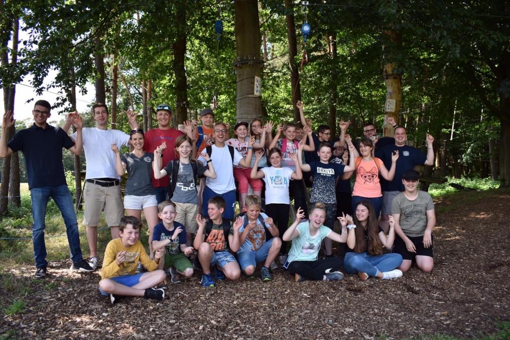 Gruppenfoto Jugendfeuerwehr Großkrotzenburg