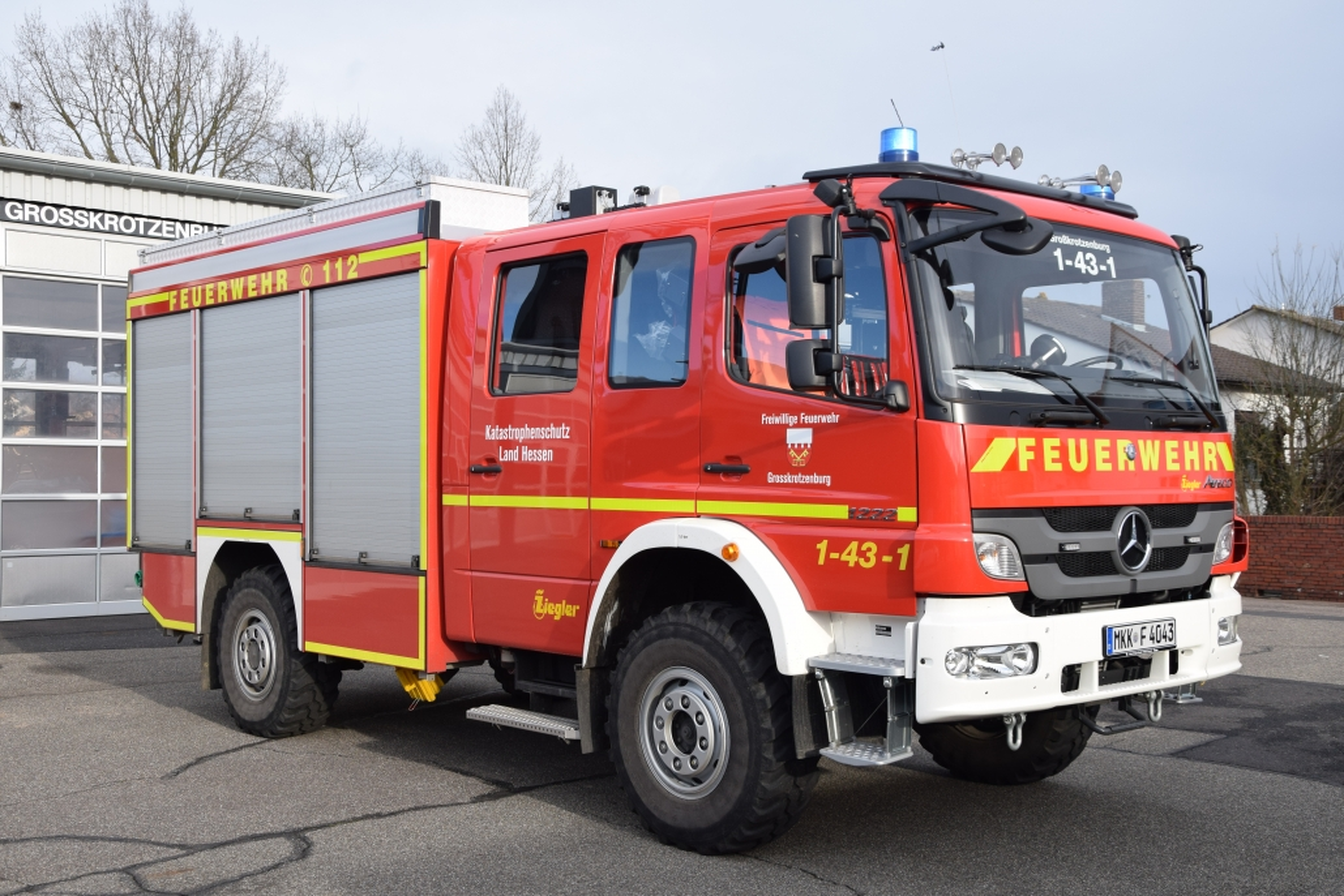 Löschgruppenfahrzeug Katastrophenschutz (LF10 KatS)