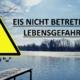 Titelbild: Eisfläche nicht betreten! Lebensgefahr!